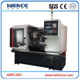 Máquina de corte del diamante del torno de la reparación de la rueda de la aleación del CNC Awr28h
