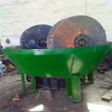 Smerigliatrice bagnata del laminatoio della vaschetta per la strumentazione di estrazione dell'oro della piccola scala