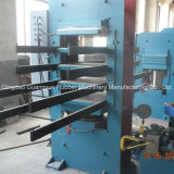セリウムCertificate Rubber Floor Tile Vulcanizing Press Machineを使って