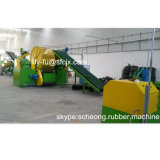 Automatisches Waste Tire Recycling Line für Rubber Powder Manufacturing Plant