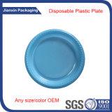 Plástico do prato descartável dos PP para o alimento