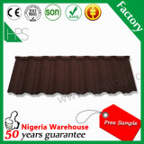 Tuile de toit enduite en métal de vente de la Chine de toiture de pierre chaude de matériaux