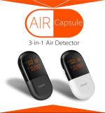 Formaldéhyde et mètre techniques d'intérieur de petite taille de qualité de l'air de Tvoc