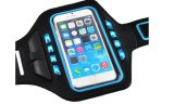 Caja del brazal del deporte de la gimnasia de la alta calidad LED, brazal corriente universal para Smartphone