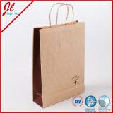 Sac promotionnel de papier d'emballage de vin de mode pour le module de empaquetage de cadeau d'achats