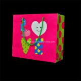 Sac synthétique de cadeau d'anniversaire de fantaisie de poignée (FBXH2007)