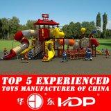 子供の屋外の運動場のスライドのための新しく安い幼稚園の就学前公園