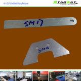 Pièces faites sur commande de découpage de laser de qualité avec la tôle Fabriation