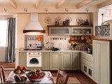 De hete Stevige Houten Keukenkast van de Verkoop