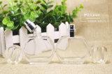 Bottiglie di vetro del profumo di cristallo rotondo per le bottiglie di fragranza