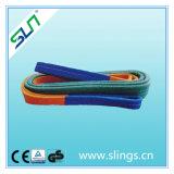 Слинг стержня полиэфира фактора безопасности 7 синтетический плоский