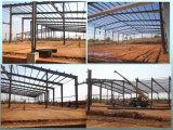 Helle Stahlkonstruktion-steife Feld-Stahl-Werkstatt