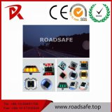 2 Sides Solar Cat Eyes Road Stud Reflective Road Stud Solar Powered Road Stud