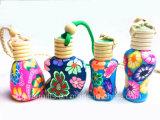 ambientador de aire del coche de la botella de perfume 8ml, botellas del ambientador de aire del coche