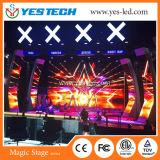 広告するか、または段階のための6kgキャビネット500*500mmの使用料のLED表示スクリーン