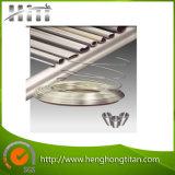 Tube et pipe sans couture titaniques pour le condensateur et l'échangeur de chaleur
