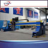 China-bester Hochleistungsbock-Typ Stahlplatten-Ausschnitt-Maschine mit Plasma-und Flamme-Fackel