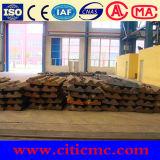 Piatto & fodere Superhigh del rivestimento del laminatoio della sfera d'acciaio del manganese
