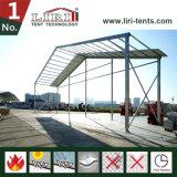 مستودع كبير بالجملة يعزل بنية خيمة مع سندويتش سقف