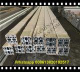 Precio barato de 6061/6063 perfil médico del aluminio de la protuberancia de la ventana industrial de la puerta