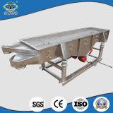Calidad garantizada por vibración lineal tamiz con bastidor de la pantalla de acero duradero