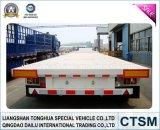 SGS ISO CCC Aprobado bajo la cama / Lowboy Semi-remolque