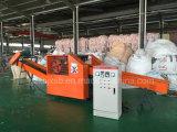 Machine de découpage de machine/chiffon de découpage de laser de fibre de prix bas/machine de rebut de coupeur de textile