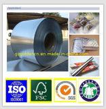 Papel de aluminio, papel de papel de aluminio, maquinaria de envasado del papel de aluminio del alimento