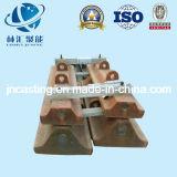 Placa Semi-Autógena de /Lining del trazador de líneas del molino/del trazador de líneas del cilindro del funcionamiento
