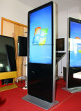 WiFi ultra mince 4k annonçant le kiosque de Digitals avec l'impression de réception