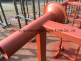 Pálete de borne revestida Stackable resistente do PVC