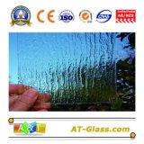 3-8mm 명확한 장식무늬가 든 유리 제품 Windows 가구 건물, etc.에 사용되는 색을 칠한