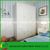 현대 PVC 문 침실 옷장