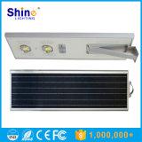 réverbère extérieur solaire de jardin d'éclairage de 70W 60W 50W