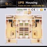 Prefabricated 집은 3D 사진을%s 가진 3개의 지면 별장을 분해한다