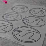Etiqueta Eco-Friendly da roupa da etiqueta da transferência térmica do vestuário 3D