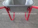 ロシアMarketのためのWb5009 Galvanized Wheelbarrow