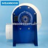 160 de plastic Corrosiebestendige CentrifugaalVentilator van het Polypropyleen voor de Kap van de Damp van het Laboratorium