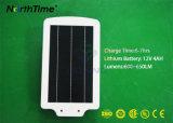 integrierte Solarstraßenbeleuchtung 6W mit Fühler