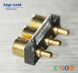 Pin di rame Gold-Plated di carico di Pogo, acciaio inossidabile caricato a molla