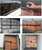 madera contrachapada Shuttering hecha frente película de la buena calidad de 12m m