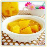 Eingemachte gelbe Pfirsich-Nahrung und Gesundheit