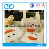 Хозяйственная сумка дешевой тенниски супермаркета пластичная с логосом Costomized