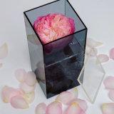선물을%s 주문을 받아서 만들어진 모양 명확한 아크릴 꽃 상자