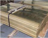 2.0335 Strato d'ottone della lega di C2700 ASTM C26800 per hardware
