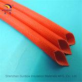 Sleeving стеклоткани смолаы силикона сопротивления пламени 1.5kv Coated