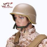 Тактический шлем реплики Airsoft Paintball M88 Pasgt с ясным забралом