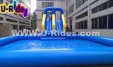Parque inflável da água para o divertimento em ao ar livre
