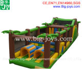 膨脹可能な障害、子供(BJ-OB01)のための膨脹可能なジャングルの運動場