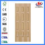 Pele de bambu de madeira moldada da porta do folheado (JHK-013)